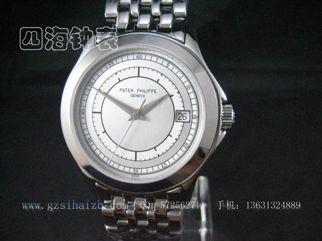百达翡丽 编号 P005 产品介绍 四海钟表网,手表批发,瑞士手表,浪