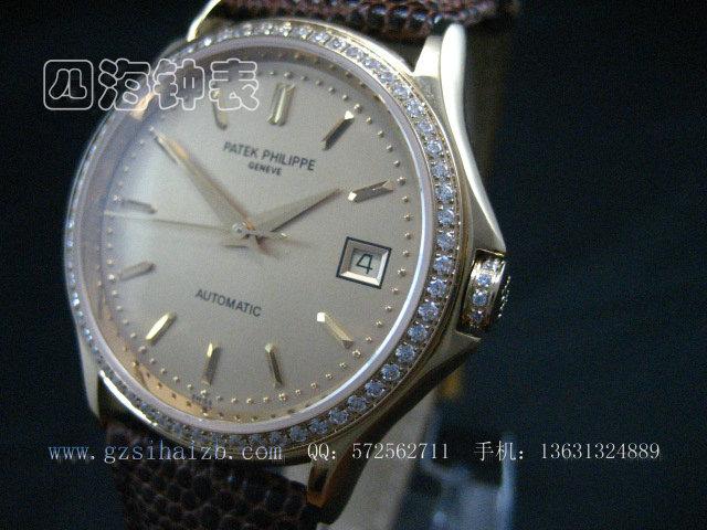 百达翡丽 编号 P052 产品介绍 四海钟表网,手表批发,瑞士手表,浪